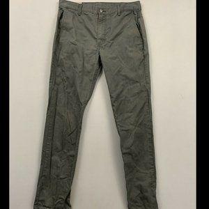 Levi's 511 Gray Slim Fit Hybrid Trouser Chino Pant